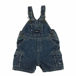 OshKosh Denim Overalls (12M)